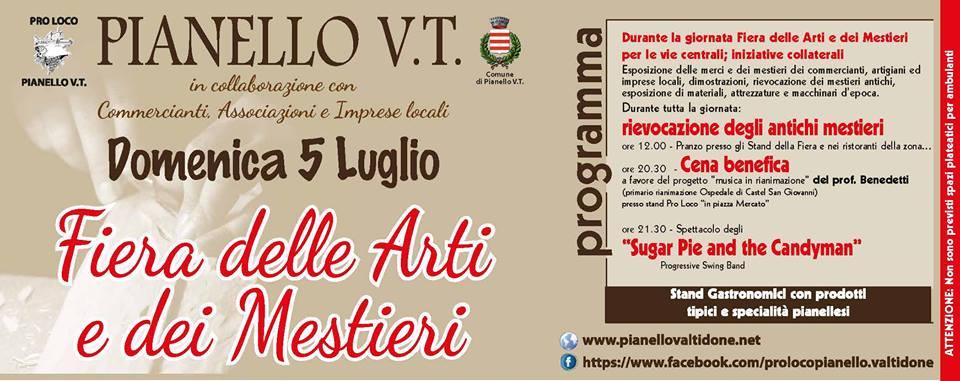 Fiera arti e mestieri Pianello Val Tidone 2015